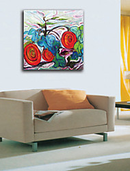 Oil Paintings One Panel Modern  Flower Hand-painted Canvas Ready to Hang