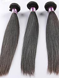 """Pc 1 lotto 8 """"-24"""" capelli umani malesi vergini capelli # 1b dell'onda del corpo bundle rosa dei capelli per le donne"""