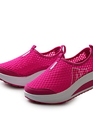 2015 New Women Mesh Lazy Shake Shoes With Thick Bottom Ladies Slimming Shoes Healthy Shoes Casual