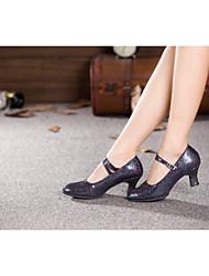 Sapatos de Dança ( Cinzento/Multi-Cor/Outro ) - Mulheres - Não Personalizável - Ventre/Latim/Samba