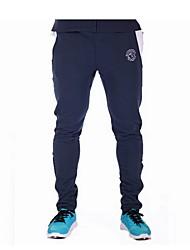 Pantalon de Sport Pour des hommes A Motifs / Rayé / Couleur plaine Décontracté / Travail / Formel / Sport Polyester Noir / Bleu / Gris