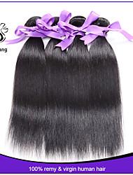 Virgin Indian hair Straight 7A Indian virgin hair Mixed Length unprocessed Indian hair bundles