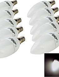 3W E14 Ampoules Bougies LED 10 SMD 2835 200 lm Blanc Chaud / Blanc Froid Décorative AC 100-240 V 10 pièces