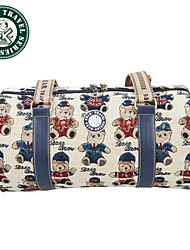 Daka Bear® nuevas mujeres de los bolsos de viaje de la moda bolsa de viaje del equipaje de viaje bolsas plegables bolsa
