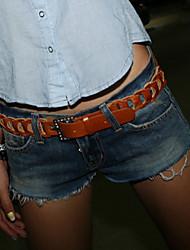 Women's Casual/Bodycon/Sexy/Cute/Beach Low Waist Holes Short Jean Pants (Cotton/Demin)