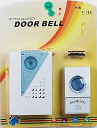 Generic VOYE V001A Remote Control Wireless LED Doorbell Door Bell EU Plug