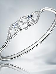 z & x® mode 925 bracelets de strass simples parti / jour