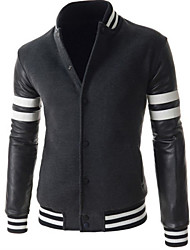 H2O Men's Casual Stand Long Sleeve Blazers & Sport Coats