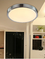 Flush Mount Lights LED 18W  Bedroom Light Round Simple Modern Diameter 35CM