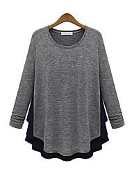 T-Shirt Da donna Rotonda Manica lunga Altro
