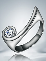 Gift Jewelry Real 925 silver Plated wedding Ring
