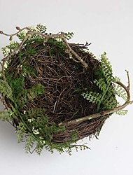 Large High Quality Artificial Bird's Nest Set of 1