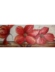 Still Life/Floral/Botanical Oil Painting Hand-Painted Canvas Wall Art Other Artists One Panel Ready to Hang