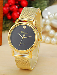 2 Colors New Fashion Women Dress Watch Gold Band Geneva Watch Ladies Quarzt Watch Cool Watches Unique Watches