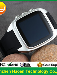 Factory Cheapest Android Smart Watch phone with android 4.4 3G Smart watch Android waterproof Wifi waterproof