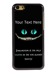Personalized Gift Imagination Design Aluminum Hard Case for iPhone 5C