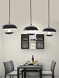 Lustres Luzes Pingente ,  Contemprâneo Tradicional/Clássico Tifani Bateria Esfera Tigela Pintura Característica for LED MetalSala de