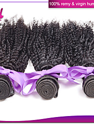 Peruvian afro kinky curly hair 4pcs/lot remy human hair 6A unprocessed virgin hair