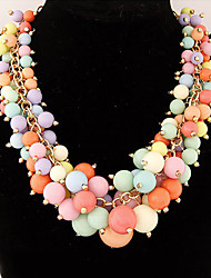 Colorful day  Women's European and American fashion necklace-0526112