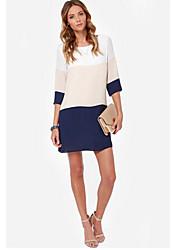 VOINWomen's Casual Dresses (Cotton)