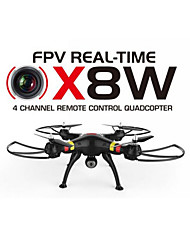 SYMA X8W Camera Drone WiFi Real Time Video 2.4G 4ch 6 Axis Venture Angle FPV Camera RC Quadcopter