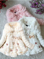 New arrive 2015  1PC Children's Fashion Outerwear Clothing Girls Warm Coats & Jackets For Autumn Winter