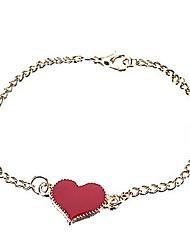 Heart Enamel Bracelet
