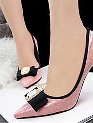 Women's Shoes Leatherette Low Heel Heels/Pointed Toe Pumps/Heels Casual Multi-color