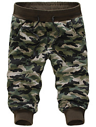 Men's Fashion Camouflage Casual Slim Sports Shorts