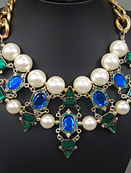 New Arrival Fashional High Quality Hot Selling Fashional Retro Gem Necklace