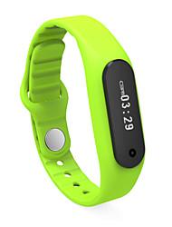 e06 actividad pulsera inteligente perseguidor bluetooth 4.0 SmartBand pulsera para teléfono inteligente Android iphone