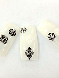 FD-57 1 Set Nail Art Flower Stickers Nail Decals Stickers Japan Korea Style Decal Nail Art Decals Case