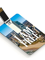 64GB I am Free Design Card USB Flash Drive