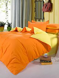 encore aloe vera coton couleur pure doubles 4 fois magnifique d'orange