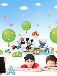 stickers muraux autocollants de mur, Mickey Mouse mur de pvc les autocollants de Donald