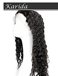 Pelucas llenas del cordón del pelo brasileño 14-26 pulgadas, peluca del cordón del pelo humano completo para la venta