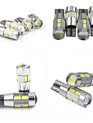 teso t10 4W DC 11 bis 13 v 5630/5730 SMD LED canbus 6000-6500K große Lampe, Leselampe, Autokennzeichenleuchte