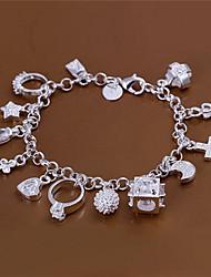 Feiku Women's Korean-style High Quality Silver-plated Bracelets