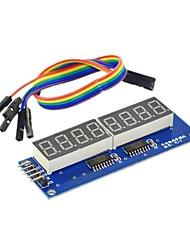 8 бит цифровой модуль трубки индикатор показывает восемь бит параллельный 595 езды отправить DuPont линии
