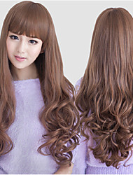 Japan and South Korea Fashion Critical Natural Curly Wig