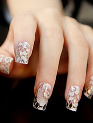 3D Lace Full Nail Sticker(Assorted Style)