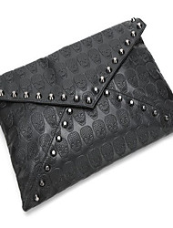 Rivet Skull Envelope Bag Women Handbag