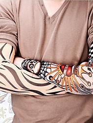1 Pc - Séries de totem - Multicolore - Motif - Sleeves length: 46-47cm; - Tatouages Autocollants Homme/Girl/Femme/Adulte/Boy/Adolescent
