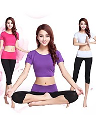 Women's High Quality Fabric Yoga Suits Breathable/Ultraviolet Resistant/Quick Dry/Anatomic Design/Antistatic/Wicking