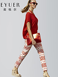 nueva moda delgada de dos piezas del juego de caracteres ola punto fresco ropa de mujer eyuer de ocio