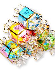 Cadeaux Utiles Faveurs et cadeaux de fête Anniversaire/Baby shower Rouge/Blanc/Vert/Bleu #