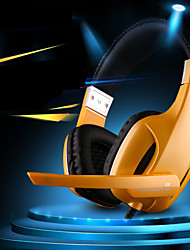 professionale usb stereo gaming headset cuffia con microfono per PC Gamer