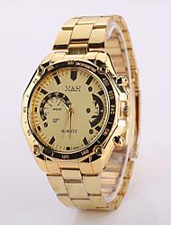 Watch Women Fashion  Gold Color Steel Watch Band Watches Geneva Watches Men Luxury Brand
