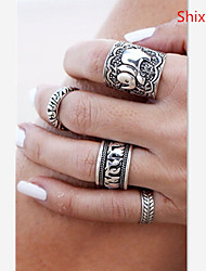 Shixin® Alloy Ring Couple Rings Daily/Casual 1set
