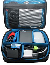 Khanka grande borsa portatile organizzatore di viaggi impermeabile per accessori elettronici